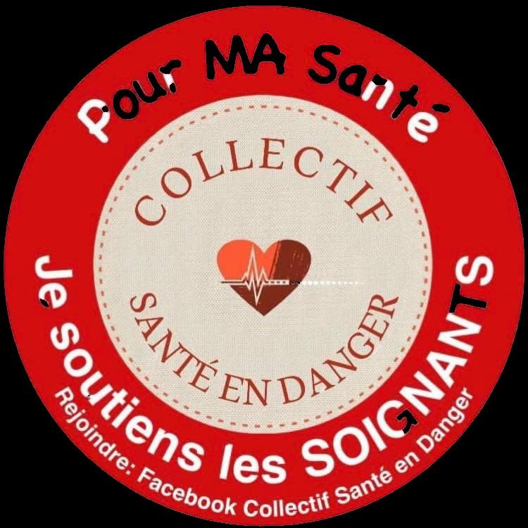 collectif santé en danger - logo transparent